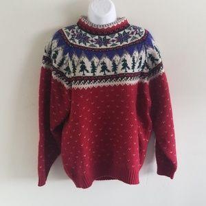 Eddie Bauer Christmas sweater